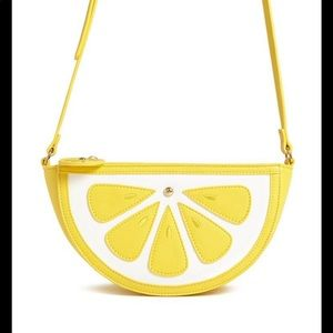 FOREVER 21 Lemon Wedge Bag